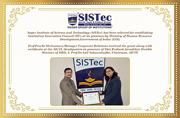 colleges in madhya pradesh, sagar group of institutions, sistec